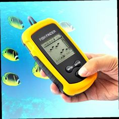 portable wired fish finder lcd display sonar sensor alarm, Fish Finder
