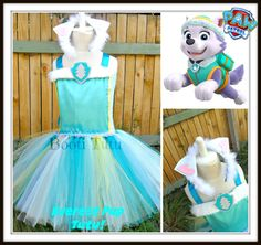 Hey, I found this really awesome Etsy listing at https://www.etsy.com/listing/251141434/paw-patrol-everest-tutu