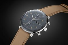 German watchmaker Junghans introduces the 2015 Max Bill Chronoscope. Boasting a 38mm case holding a modified Valjoux 7750 displaying both time and date, the latest Max Bill Chronoscope iteration hi...