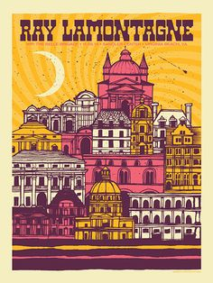 Ray Lamontagne #gig #poster