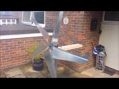 How to build: Efficient DIY Wind Turbine - YouTube