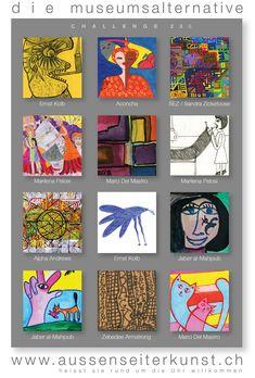 Artiasts of Challenge No.230 Challenges, Artist, Names, Artists