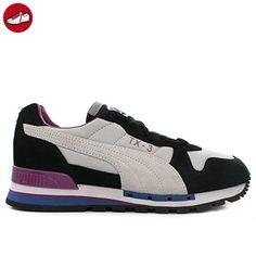 Popcat, Chaussures de Cross Mixte Adulte, Blanc White Black, 47 EUPuma