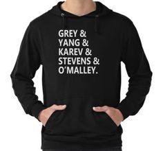 Grey's Anatomy cast hoodie
