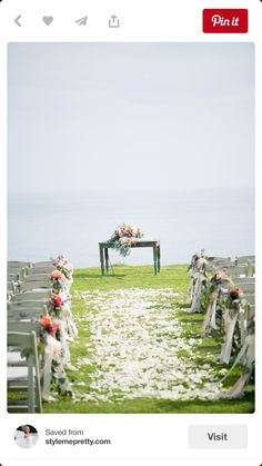 682fe7073bc5 Want to see some magical wedding aisle style that'll make your wedding  stand out from the crowd?