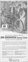 AMF Roadmaster Luxury Liner 1953 Ad Picture