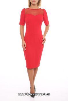 Designer Büro Kleid Aliciana Rot