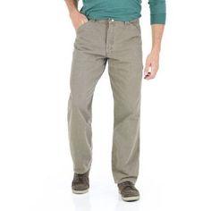 Wrangler Men's Carpenter Jeans, Size: 38 x 32, Gray