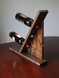 ideas reclaimed timber wood pallet wine rack