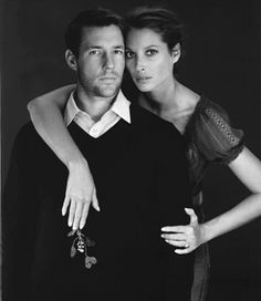 Ed and Christy Turlington Burns - This is a GREAT couple!