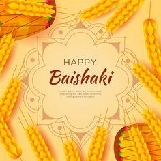 Happy baisakhi flat design wallpaper with wheat , Graphic Design Templates, Modern Graphic Design, Art Deco Design, Print Design, Happy Baisakhi, Flat Design, Designer Wallpaper, Lorem Ipsum, Creative