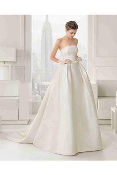 クラシック イリュージョン ショートスリーブ ボールガウン 花嫁のドレス ウェディングドレス Hro0112 - P0112