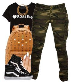 """5-23-15"" by polyvoreitems5 ❤ liked on Polyvore featuring Forever 21, MCM, Braun, *Accessories Boutique and Vans"