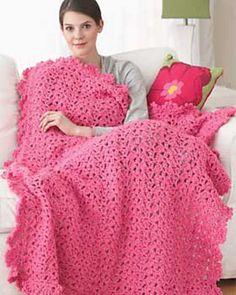 Harmony blanket ~ beautiful! {free crochet pattern}