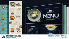 """Buy Restaurant Menu by MotionMAX on VideoHive. hi there, Welcome to my new project""""Restaurant Display"""". A complete solution for restaurant menu display. Soup Restaurant Menu, Soup Menu, Restaurant Steak, After Effects Projects, After Effects Templates, Diy Tipi, Burger Menu, Dish Display, Food Menu Design"""
