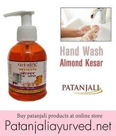 Patanjali Hand wash Almond Kesar buy Patanjali products at online store www.patanjaliayurved.net