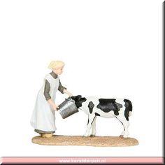 Luville - Clara Stevens feeds calf