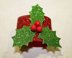 Christmas Napkins, Christmas Tablescapes, Christmas Bows, Christmas Table Decorations, Decoration Table, Handmade Christmas, Christmas Holidays, Christmas Ornaments, Christmas Activities