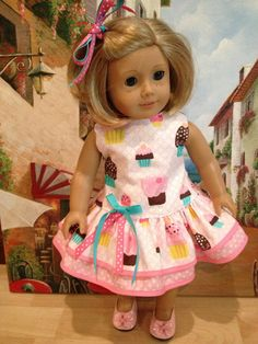 American Girl Doll Dress 1930's Party Dress by NanaDorysCreations, $15.99