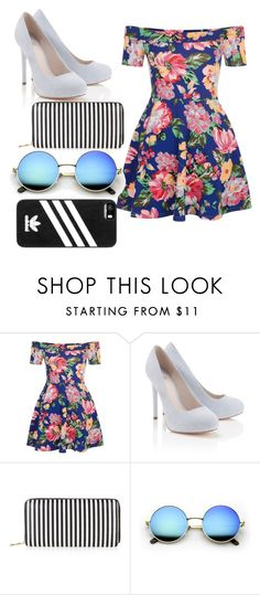 """""""SPRING OUTFIT"""" by tamaracaleta ❤ liked on Polyvore featuring New Look, Lipsy, adidas, cutecardigan and springlayers"""