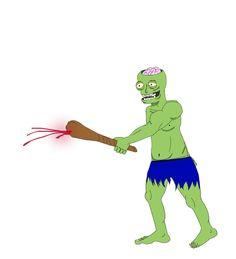 zombie warrior attack