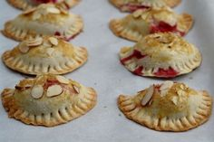 EVERYTHING ON THIS SITE, is amazing!  Truth.  Raspberry, goat cheese and almond empanadas recipe | Laylita's recipes
