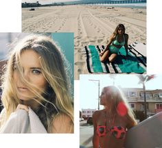 Brazilian-born pro surfer Bruna Schmitz shares her sun-and-sea-worthy beauty tips.