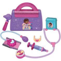 Doc McStuffins Doctor's Bag Set Disney Junior Play New 7 Piece Vet Toy Check Up #Disney