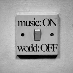 Let the music take over