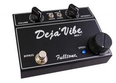 Fulltone Mini Deja Vibe (MDV Black) - Univibe consider price and sound = good buy. Even pay 1k over for real shin-ei uni-vibe, it may sounds like shit due to lack of maintainance and parts failure.