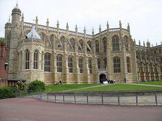 St. George's Chapel, Windsor Castle, Windsor, England by nikoretro, via Flickr