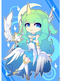 Star Guardian Soraka by Alpha-Sama