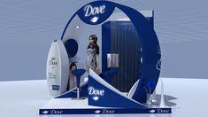 Kiosk Design, Store Design, Mall Kiosk, Exhibition Booth Design, Surfboard, Behance, Display, Pop, Mini