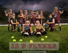 softball sister portraits | SBV Photography