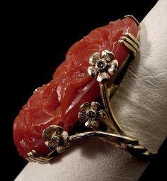 raw blood diamonds | red this deep blood red natural mediterranean coral european diamond ...