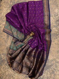Sacred Weaves - Shop for Exquisite Banarasi Sarees Online Soft Silk Sarees, Dress Indian Style, Indian Outfits, Pattu Sarees Wedding, Kalamkari Dresses, Banaras Sarees, Saree Tassels, Stylish Sarees, Outfit