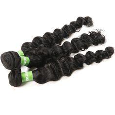 Weaving Hair Deep Wave Brazilian Hair, Natural Materials, Hair Extensions, Natural Hair Styles, Weaving, Weave Hair Extensions, Extensions Hair, Loom Weaving, Extensions