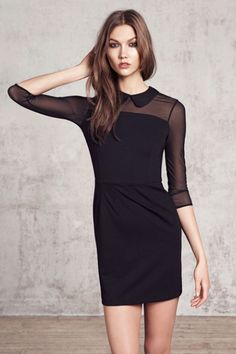 LBD- Karlie Kloss for Mango, Winter 2012