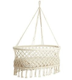 How sweet is this? Hanging bassinet