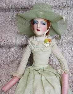 Boudoir Doll (I had one as a child and I thought she looked mean).