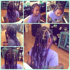 Conscious Coils Natural Hair Salon (Portland, OR)  Purple box braids #consciouscoils #consciouscoilssalon #salon #purple #purplehair #hair #hairappointment #hairsalon #protectivestyles #naturalhair #naturalista #lilnaturals #portlandoregon #portland #pdx #hairart #ilovepurple #vacationhair #summerhair #kidssalon #kidhairstyles #kidhairinspiration #blackgirl #blackhair #curlfriends #curlyhair #naturalhaircommunity #naturalbeauty #naturalhairdaily #naturalhairstyles
