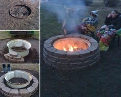 Tractor Rim Fire Pit Ideas You Will Love