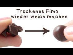 [Quick Tipp] Trockenes Fimo wieder weich machen! | Anielas Fimo - YouTube