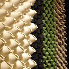 textures - acoustic felt wall panels