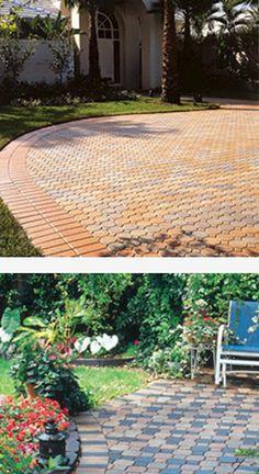 projetos de jardins com pisos intertravados - Pesquisa Google