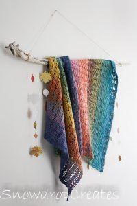 FREE pattern using Lion Brand Mandala Tweed Stripe yarn Lion Brand Mandala Yarn, Lion Brand Yarn, Crochet Mandala, Crochet Yarn, Mandala Pattern, Afghan Crochet Patterns, Knitting Patterns, Quick Crochet Blanket, Knitted Blankets