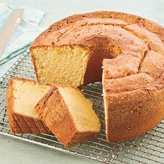 Two-Step Pound Cake | MyRecipes.com