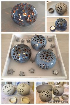 If I could put accurate stars on there thats be coolio. Have to be tall eno. If I could put accurate stars on there thats be coolio. Have to be tall enough to fit around my Ceramic Clay, Ceramic Pottery, Pottery Art, Diy Clay, Clay Crafts, Clay Christmas Decorations, Cerámica Ideas, Pottery Handbuilding, Pottery Techniques