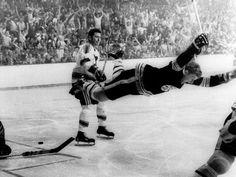 The legendary goal scored by Bobby Orr in 1970 | Boston Bruins | NHL | Hockey