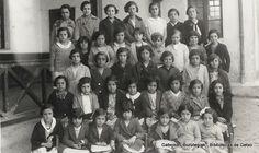 Alumnas de las Escuelas de Zabala, 1931 (Cedida por Mariví Bengoetxea) (ref. 04616)
